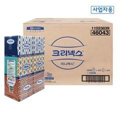 46043 크리넥스 미니맥시 휴대용 티슈 250매 36각 한박스