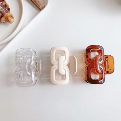 귀여운 미니 와플 집게핀 헤어핀 (3color)
