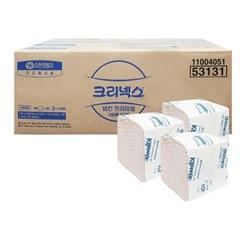 53131 크리넥스 냅킨 프리미엄(2겹) 호텔냅킨 160매X30팩 한박스