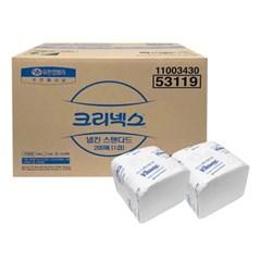 53119 크리넥스 냅킨 스텐다드 (1겹) 200X60팩 한박스