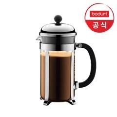 [보덤] 샴보드 프렌치프레스 커피메이커(샤이니) 1L