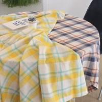 그리드 체크 테이블보 식탁보(2colors)_(2002538)
