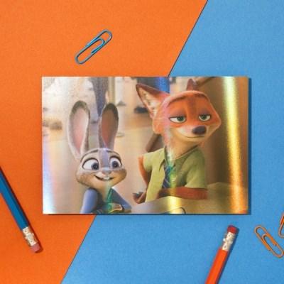[디즈니] 홀로그램 엽서_주토피아