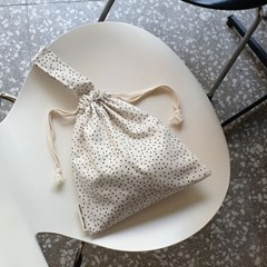 string tote bag_내츄럴도트