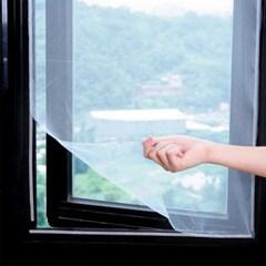 간편설치 벨크로 방충망(130x150cm)/ 창문모기장