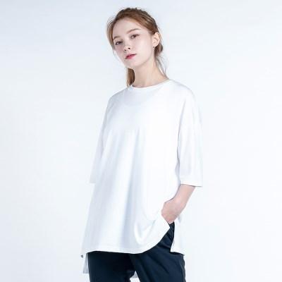 올데이 커버 티셔츠 DTF0S-3010 화이트