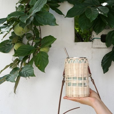 라탄/코바늘 DIY 패키지 - 라탄 제로백 & 코바늘 이너 파우치 만들기