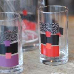 일본 피에르가르뎅 유리컵&저그&아이스버킷 세트 빈티지컵 소량입고