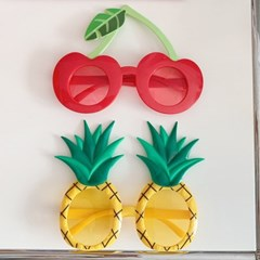 Cherry & Pineapple Glasses 체리&파인애플안경