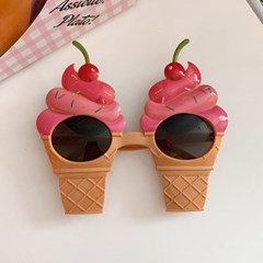 Cherry Ice Cream Glasses 체리아이스크림안경