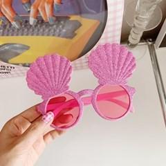 Glitter Shell Glasses 반짝이조개안경