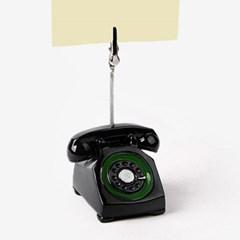 할머니 집에서 본듯한 전화기 메모클립