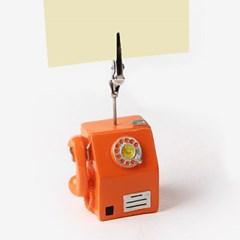 시골에서 본듯한 공중전화 메모클립