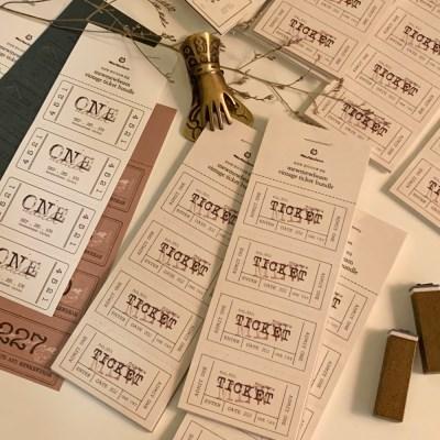 냥냥빔 vintage ticket bundle