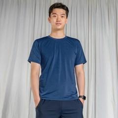 올시즌 스트레치 맨 티셔츠 DTM0S-3007 블루