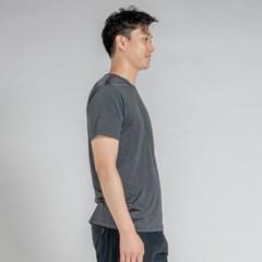 올시즌 스트레치 맨 티셔츠 DTM0S-3007 다크그레이