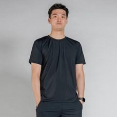 올시즌 스트레치 맨 티셔츠 DTM0S-3007 블랙