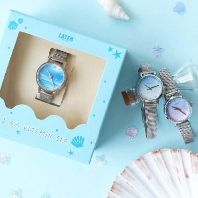[단독상품] 바다 시계 (3colors/AG2G9906MT)