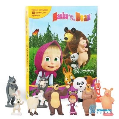 My Busy Books : Masha & the Bear 피규어북