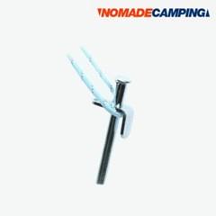 노마드 크롬도금 단조팩 40cm/N-5253