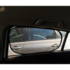 PVC필름 간편흡착 차량용 햇빛가리개 2p세트(51x31cm)