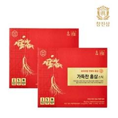 참진삼 가득찬 홍삼 스틱 2개월 (30포x2박스)
