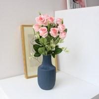 풍성 미니장미조화꽃 인테리어 조화부쉬 (7color)