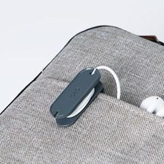 케이블 클립 슬림 (2개입) 이어폰 줄감개 선 정리 홀더