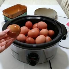 키친아트 맥반석계란기계 구운계란굽는기계 군고구마 훈제달걀만들기