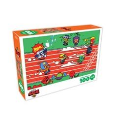 [액자포함]직소퍼즐 빅 100조각 브롤스타즈 달리기 DW100-5880