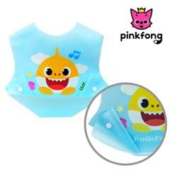 핑크퐁 실리콘 턱받이(블루)C2268