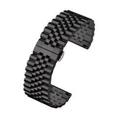 피닉스 시계줄 G672 디버클 메탈밴드(블랙22mm)
