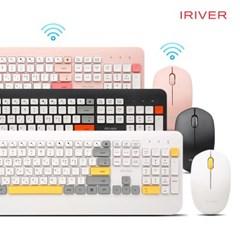 (무료배송)아이리버 무선 키보드&마우스 세트 EQwear-V1000
