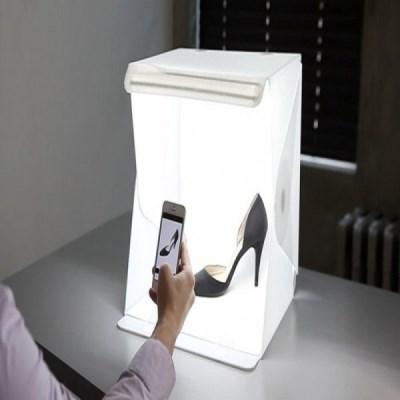 유튜브 유튜버 미니스튜디오 미니사진관 라이트룸 LED