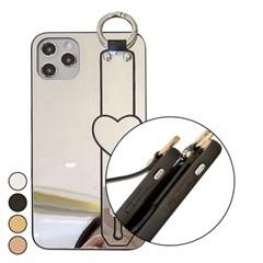 아이폰6S플러스 하트 심플 미러 하드 케이스 P549_(3100119)