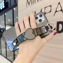 아이폰6플러스 하트 심플 미러 커버 하드 케이스 P549_(3100118)
