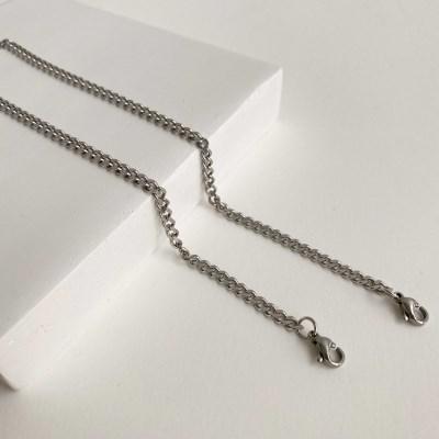 1+1[마스크줄]cursive chain-No.2