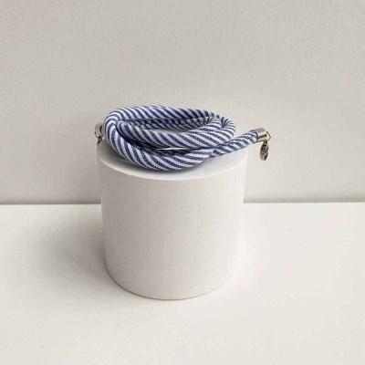 1+1[마스크줄]Stripe Strap-Blue