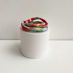 1+1[마스크줄]Art Flower Strap