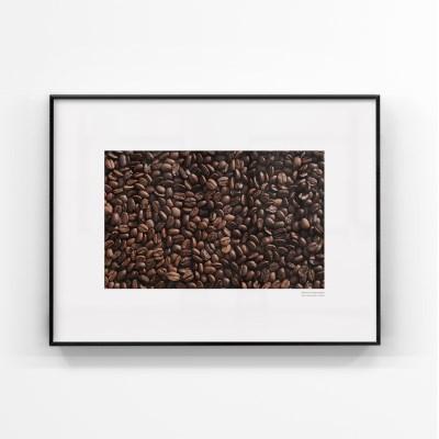 브라운 인테리어 대형사이즈 액자 커피