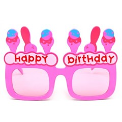 생일아이스크림안경-핑크