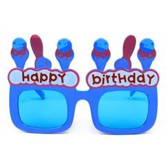 생일아이스크림안경-블루