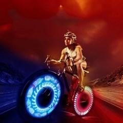 32개 LED 휠라이트 자전거 후미등 안전등 Wheel Light