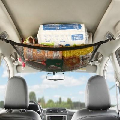 숨은공간 자동차 천장 수납 메쉬 그물 넷트 포켓 가방