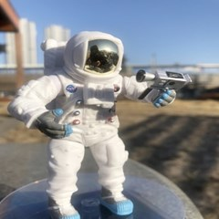 Astronaut 우주인 데코 리얼 피규어 조종사 파일럿