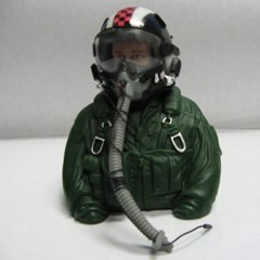 RC 비행기 무선조종 조종사 모형 파일럿 Pilot 전투기