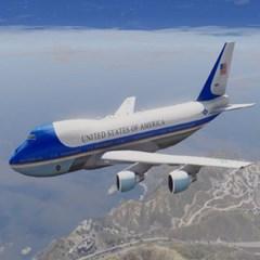 미국 트럼프 대통령 전용기 공군1호기 에어포스원