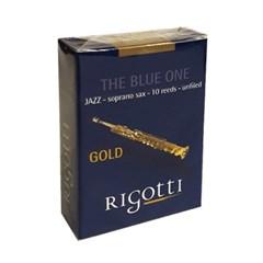 [중앙악기] RIGOTTI 리고티 골드 재즈 소프라노 색소폰_(1703097)