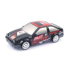 1/24 4륜구동 드리프트카 AE86 블랙 RC