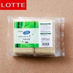 4000p 롯데 편한생활 대나무 이쑤시개(덕용) (6.5cm)